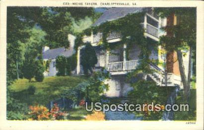 Michie Tavern - Charlottesville, Virginia VA Postcard