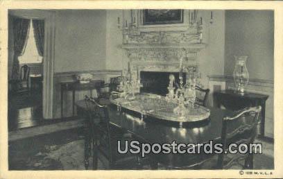 Dining Room - Mt Vernon, Virginia VA Postcard