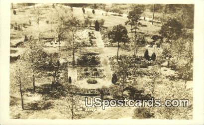 Real Photo Sunken Gardens, Cavalier Hotel - Virginia Beach Postcards, Virginia VA Postcard