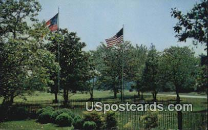 Confederate Cemetery - Appomattox Court House National Historical Park, Virginia VA Postcard