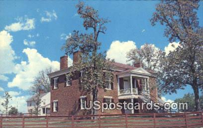 Appomattox Court House - Appomattox Court House National Historical Park, Virginia VA Postcard