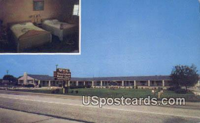 Shenandoah Motor Court - Fincastle, Virginia VA Postcard