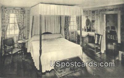 George Washington's Bedroom - Mt Vernon, Virginia VA Postcard