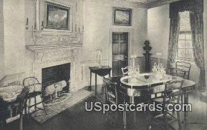 Dining Room, Home of George Washington - Mt Vernon, Virginia VA Postcard