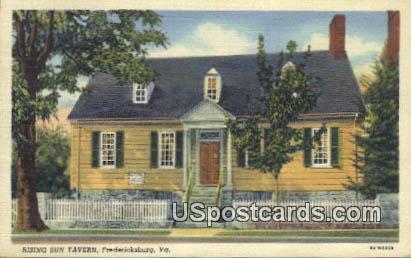 Rising Sun Tavern - Fredericksburg, Virginia VA Postcard