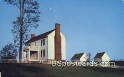 Bocock Isbell House - Appomattox Court House, Virginia VA Postcard
