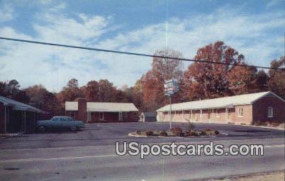 Brafford Motel - Williamsburg, Virginia VA Postcard