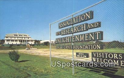 Association for Research & Enlightenment - Virginia Beach Postcards, Virginia VA Postcard