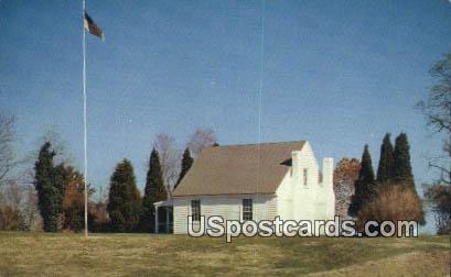 Stonewall Jackson Shrine - Guinea, Virginia VA Postcard