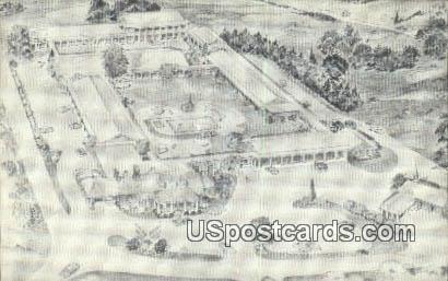 Indian Hills Inn - Petersburg, Virginia VA Postcard