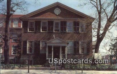 John Marshall House - Richmond, Virginia VA Postcard