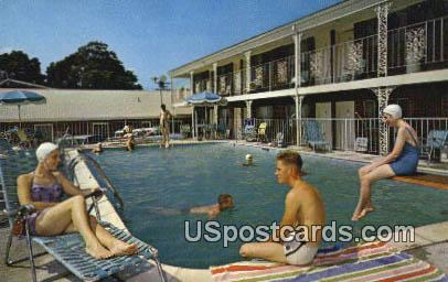 Continental Motel & Restaurant - Williamsburg, Virginia VA Postcard