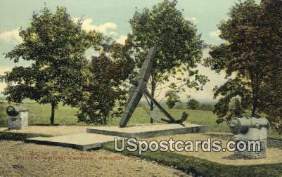 USS Maine - Arlington National Cemetery, Virginia VA Postcard