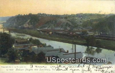 Madison Heights - Lynchburg, Virginia VA Postcard