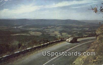 Shenandoah River - Shenandoah National Park, Virginia VA Postcard