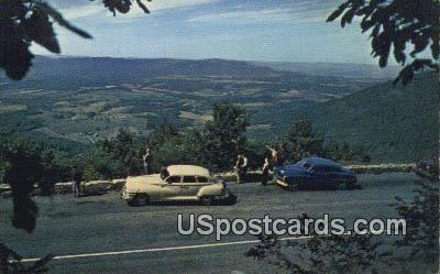 Shenandoah Valley - Skyline Drive, Virginia VA Postcard