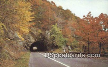 Mary's Rock Tunnel - Shenandoah National Park, Virginia VA Postcard