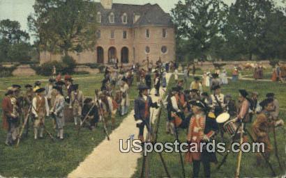 Militia, Story of a Patriot - Williamsburg, Virginia VA Postcard