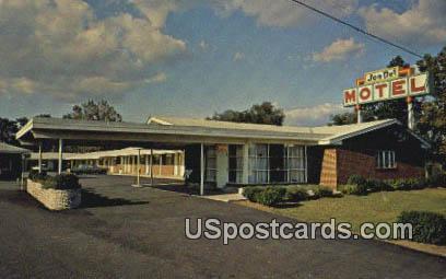 Jon-Del Motel - Suffolk, Virginia VA Postcard