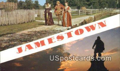 Jamestown, Virginia Postcard     ;       Jamestown, VA