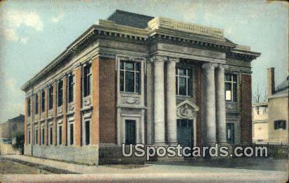 Norfolk Public Library - Virginia VA Postcard