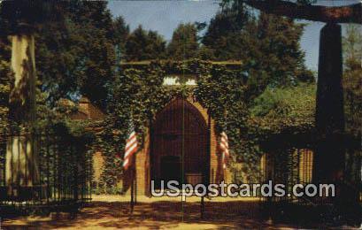 Washington Tomb - Mt Vernon, Virginia VA Postcard
