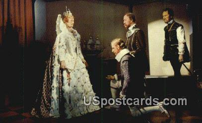 Queen Elizabeth of England - Jamestown, Virginia VA Postcard