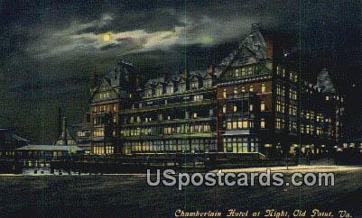 Chamberlain Hotel - Old Point, Virginia VA Postcard