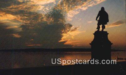 Jamestown, VA Postcard       ;         Jamestown, Virginia