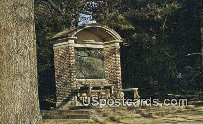 Rev Robert Hunt Memorial Shrine - Jamestown, Virginia VA Postcard
