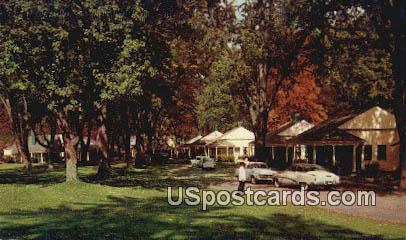 Cottages, Homestead - Hot Springs, Virginia VA Postcard
