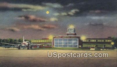 Terminal Building, Richard E Byrd Airport - Richmond, Virginia VA Postcard