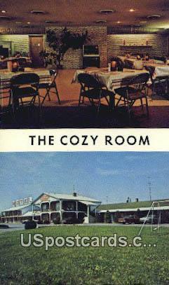 Echo Village Motel & Restaurant - Winchester, Virginia VA Postcard