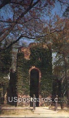 Jamestown Church Tower - Jamestower, Virginia VA Postcard