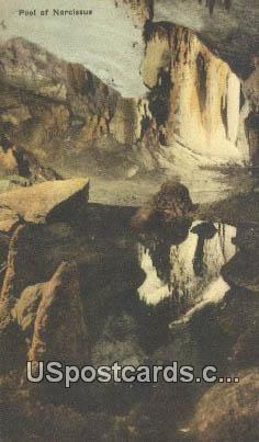 Pool of Narcissus, Endless Caverns - New Market, Virginia VA Postcard