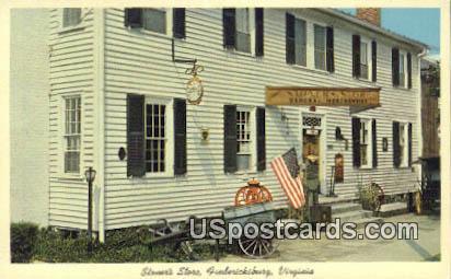 Stoner's Store - Fredericksburg, Virginia VA Postcard