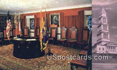 Altar of Shrinedom - Alexandria, Virginia VA Postcard