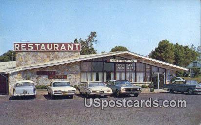 Pelham House Restaurant - Reservations, Virginia VA Postcard