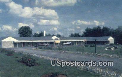 Johnson's Motel - Warrenton, Virginia VA Postcard