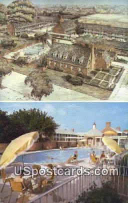 Olde Colony Motor Lodge - Alexandria, Virginia VA Postcard