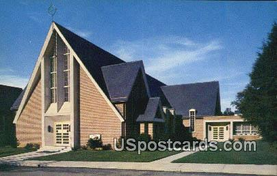 Blackburg's Baptist Church - Misc, Virginia VA Postcard
