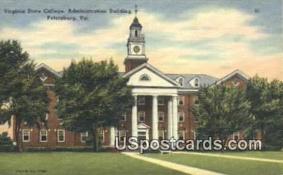 Virginia State College - Petersburg Postcard
