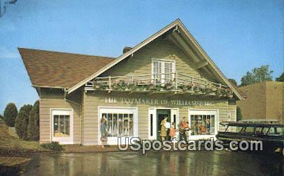 Toymaker of Williamsburg - Virginia VA Postcard