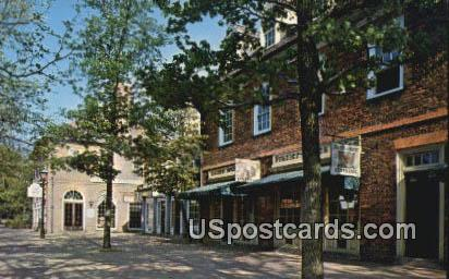 Merchants Square - Williamsburg, Virginia VA Postcard