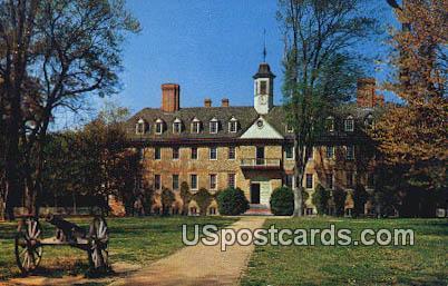 Wren Building College of William & Mary - Williamsburg, Virginia VA Postcard