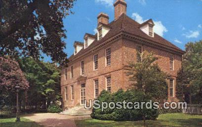 President's House - Misc, Virginia VA Postcard