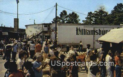 Williamsburg Pottery Factory - Lightfoot, Virginia VA Postcard