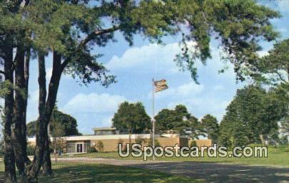 National Park Service Visitor Center - Yorktown, Virginia VA Postcard