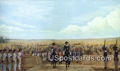 Surrender 1781 - Yorktown, Virginia VA Postcard