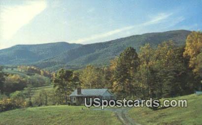 Fort Lewis Mountain - Salem, Virginia VA Postcard